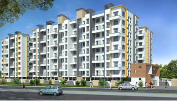 2 BHK, Residential Apartment in Indrayani Vatika at Dehu - image